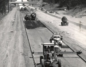 The Interstate Highway System was only about 16 percent finished in 1960.