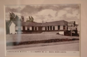 The Westgate Motel in Beach, where Steinbeck had a bath on Oct. 12, 1960.